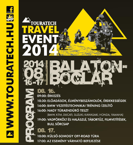 Touratech Travel Event program